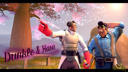 Dunkle and Haru by TooTavish