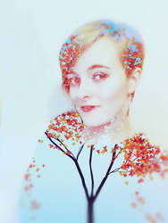 Autumn Girl by XLittleDoveX
