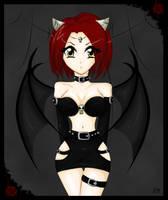 + demon girl + by Bjorkan