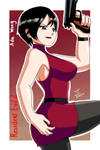 Ada Wong-Resident Evil 2 by RodriguesD-Marcelo