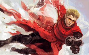 Vash the Stampede by solidgrafi