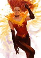 Lady Phoenix by solidgrafi