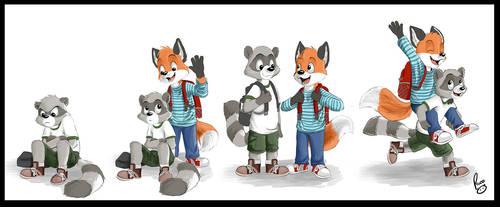 Friendship by pandapaco