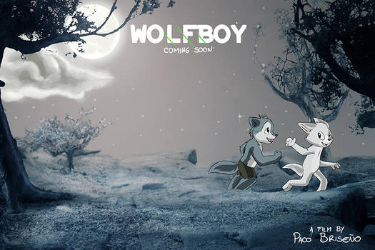 Wolfboy shortfilm poster by pandapaco
