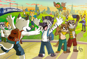 Midwest Furfest 2015 by pandapaco