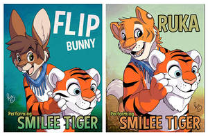Smilee tiger's last performers by pandapaco