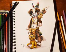 Tribal Roni by pandapaco