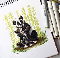 Best monochromatic friends by pandapaco