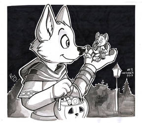 Inktober 2017 Day3 by pandapaco