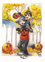 Happy Halloween by pandapaco