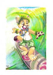Surfin' Megaplex by pandapaco