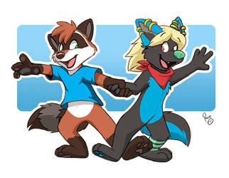 Nukicoons don't dance by pandapaco