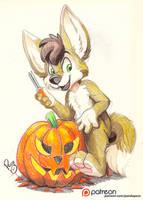 Pumpkin Carving by pandapaco