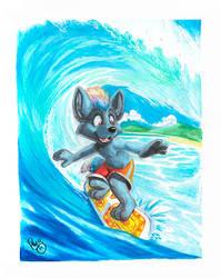Hino surf by pandapaco