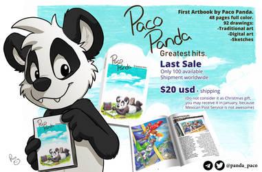 Artbook sale. by pandapaco