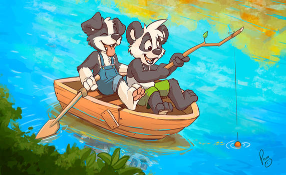 In The Same Boat by pandapaco