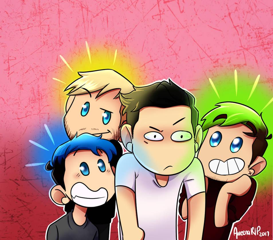 Highlighter Boys ! by aileenarip