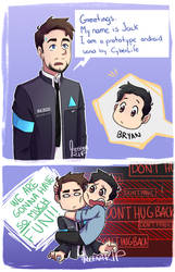 The Jack sent by CyberLife by aileenarip