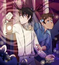 Klance | Over the Garden Wall AU by aileenarip