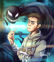 Venom and Eddie by aileenarip