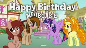 Happy Birthday Wubcake by jaedenwalton