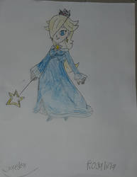 Rosalina Drawing by jaedenwalton
