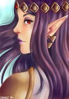the legend of zelda a link between worlds-HILDA by X-Obake-X