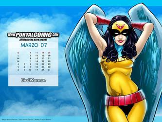 BirdWoman by PortalComic