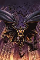 Batman color sample by PortalComic
