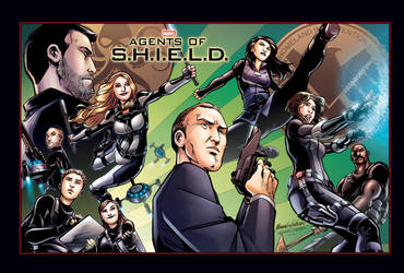 Agents of S.H.I.E.L.D. by PortalComic