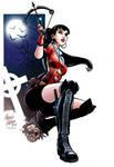 Vampirella (color) by PortalComic