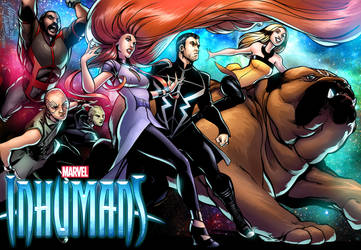 Marvel Inhumans FanArt by PortalComic