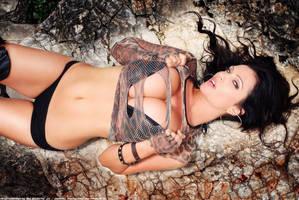 Denise Milani on Actiongirls by ScottyJX