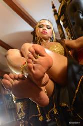 Giant Giantess Foot God Goddess Armie Field by ScottyJX