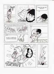 ROTL Round 3 - Vs. Hunter page 6 by CrusaderCrab