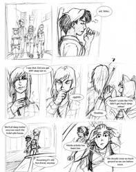 RaW - 'Big City Brawl' page 1 by kamesen