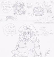 Rabi's Christmas cake by GAIN-OVER