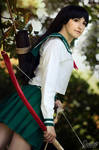 Kagome from Inuyasha cosplay by Juriet