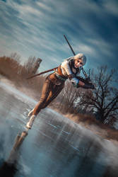 The Tower of the Swallow - Ciri cosplay by Juriet
