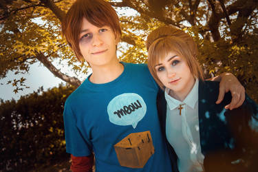 Kate and Warren - Life is Strange cosplay by Juriet