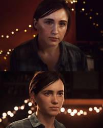 Ellie (The Last of Us part II) cosplay makeup test by Juriet