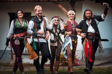 The Rats - The Witcher book cosplay by Juriet