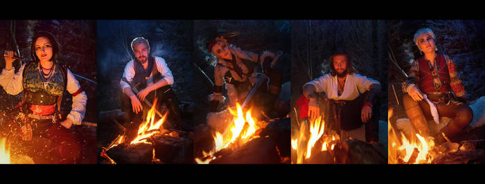 Falka and The Rats - The Witcher book cosplay by Juriet