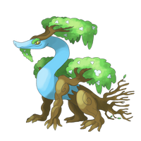 [Fakemon] I AM GROOT by Involuntary-Twitch