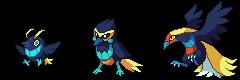[Fakemon] Bird of Paradise by Involuntary-Twitch