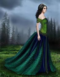 peacock by daniellek