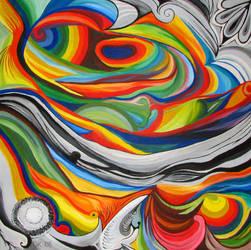 burst of colors by daniellek