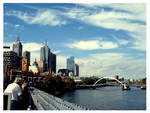Melbourne View by Lilithia