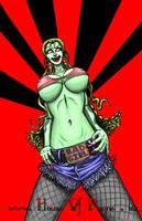 Liv N Dead Rock Star by DrPayne