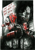 Evil Dead 2013 by tsukasa1608